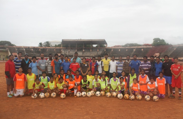 AIFF Grassroots Course Coimbatore
